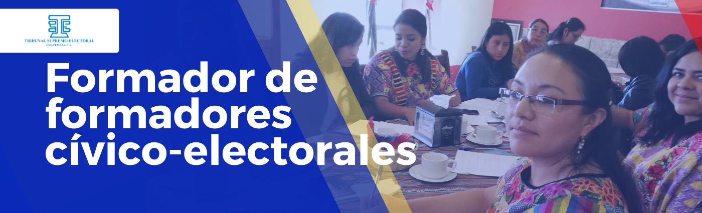 """Formador de Formadores Cívico Electorales 21 """"D"""""""