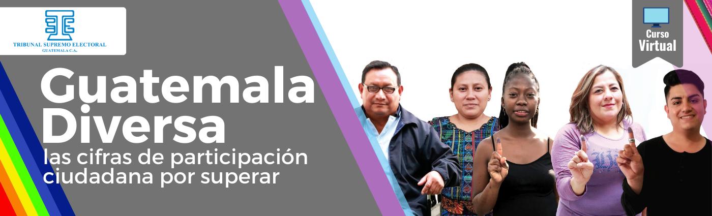 """Guatemala Diversa: las cifras de participación ciudadana por superar 21 """"E"""""""