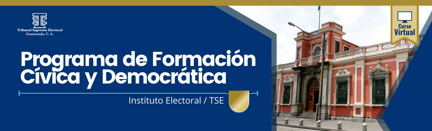 """Programa de Formación Cívica y Democrática 21 """"D"""""""